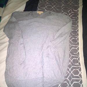Michael Kors grey long sleeve shirt size XL
